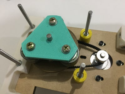 Adding Motor and Rotor to the Base Plate