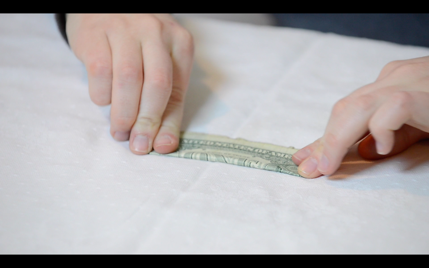 Picture of Origami Flower: How to Fold the Dollar Bills - Fold 3