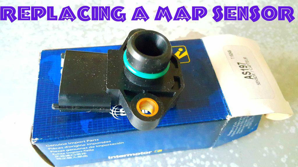 Picture of Replacing a Map Sensor (Hyundai Trajet/sonata)