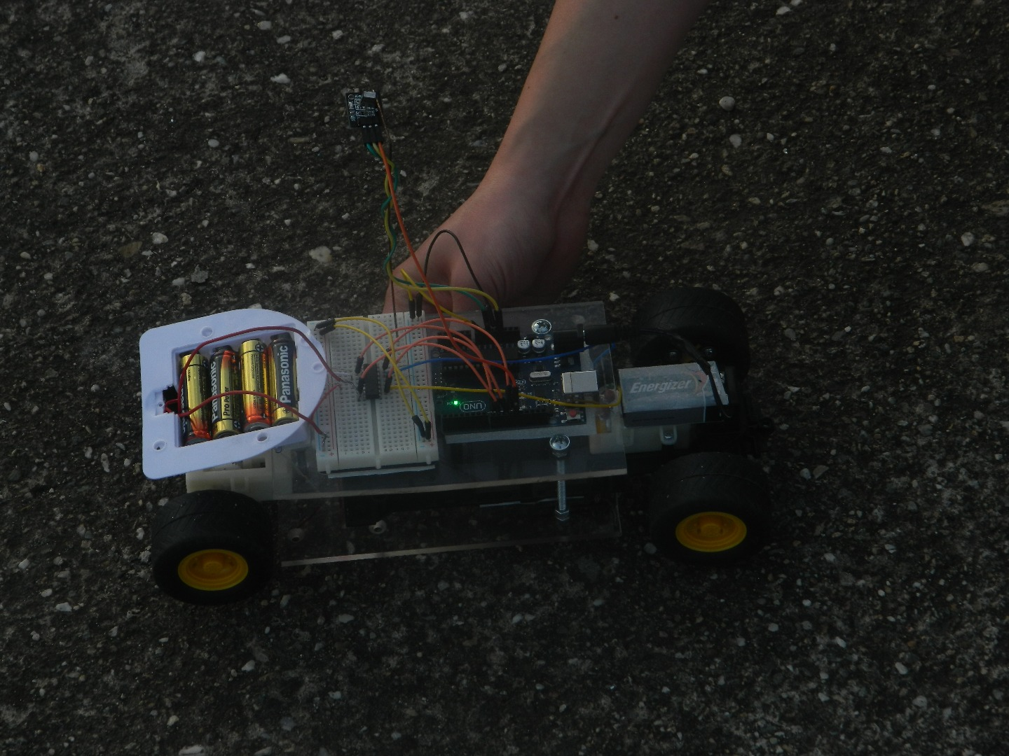 Picture of TV Remote Controlled Car - Arduino
