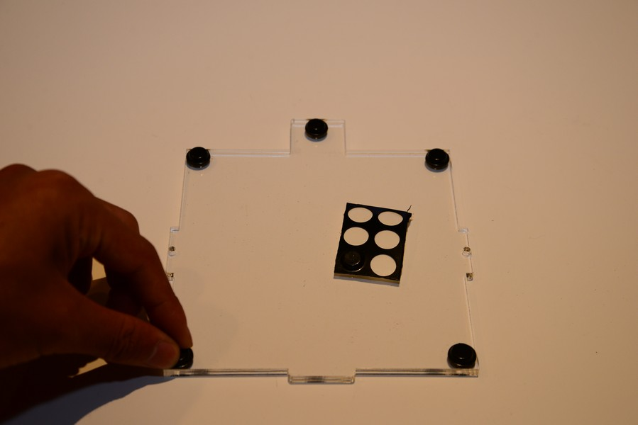 Picture of Frame Assembly- Bottom Plate