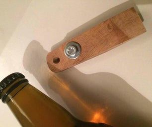 Rustic Pallet Bottle Opener