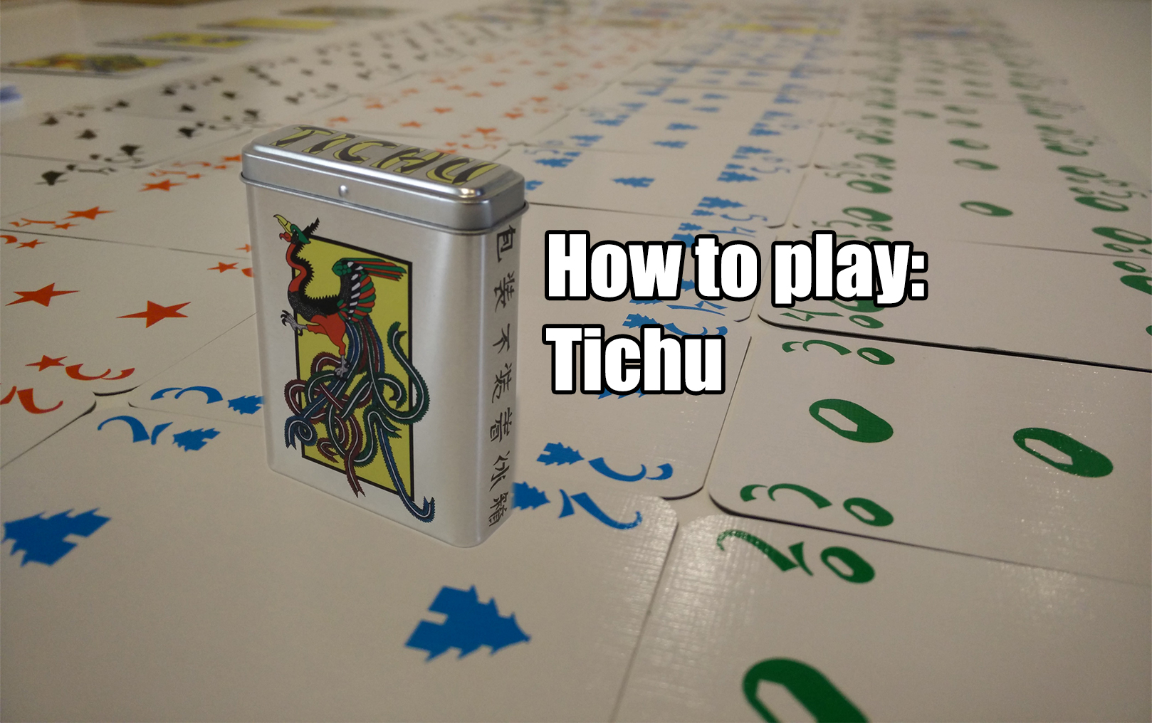 Picture of Playing Tichu