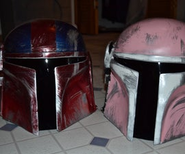 Star Wars Helmets as Holiday gifts! (Custom Mandolorian Helmets)