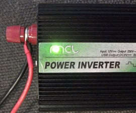 Inverter with silenced fan
