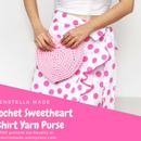 Crochet Sweetheart T-shirt Yarn Purse