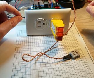 ESP8266 Temperature Controlled Relay