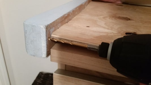 Screw Side and Back Rails Into the Top
