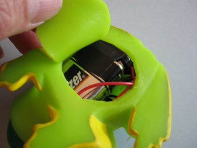 Insert the Wiring Into the Frog