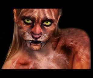 Sabertooth Tiger - Makeup Tutorial