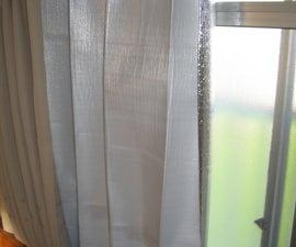 Heat blocking curtains