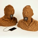 Turn Your Head into Cardboard Speakers Using 123D Catch + MeshMixer + 123D Make + Laser Cutter!