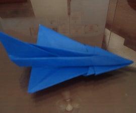 F-102 Origami Plane