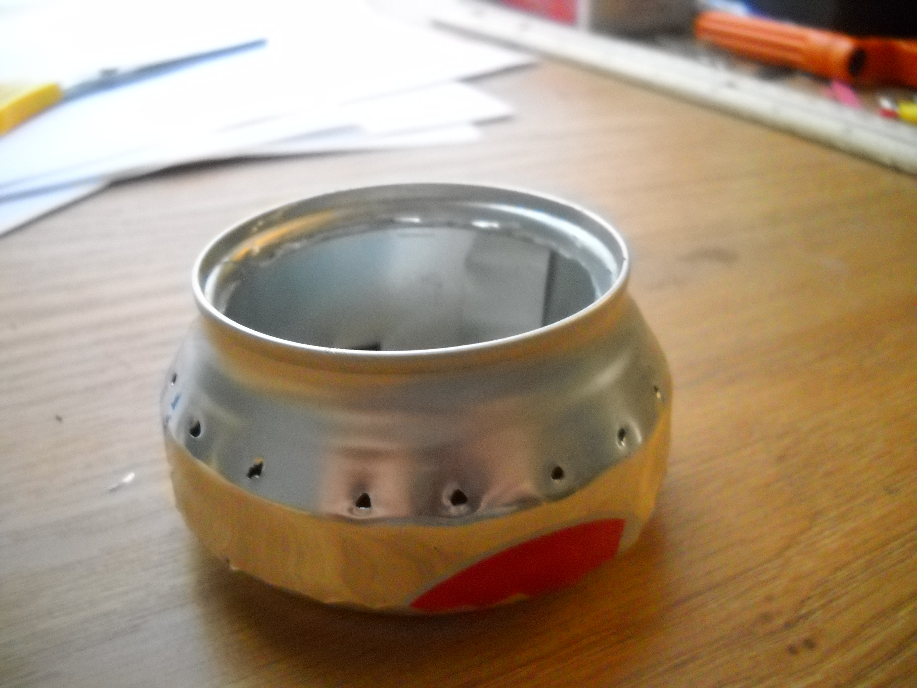 Picture of Easy Single-Can Backpacking Stove