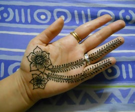 how to do henna design for beginners