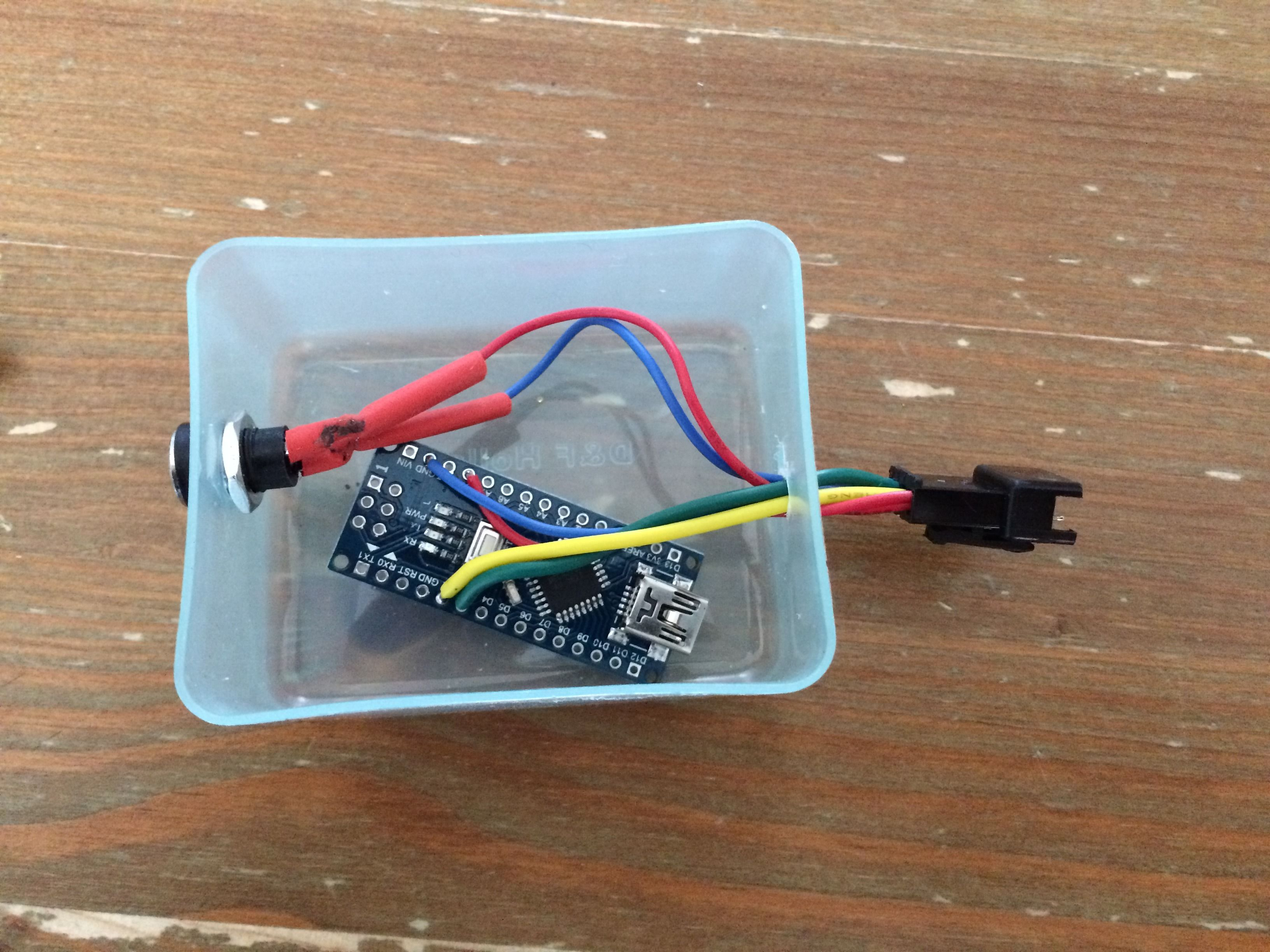 Picture of Step 5: the Arduino