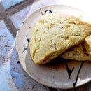 Lemon Ginger Cream Scones