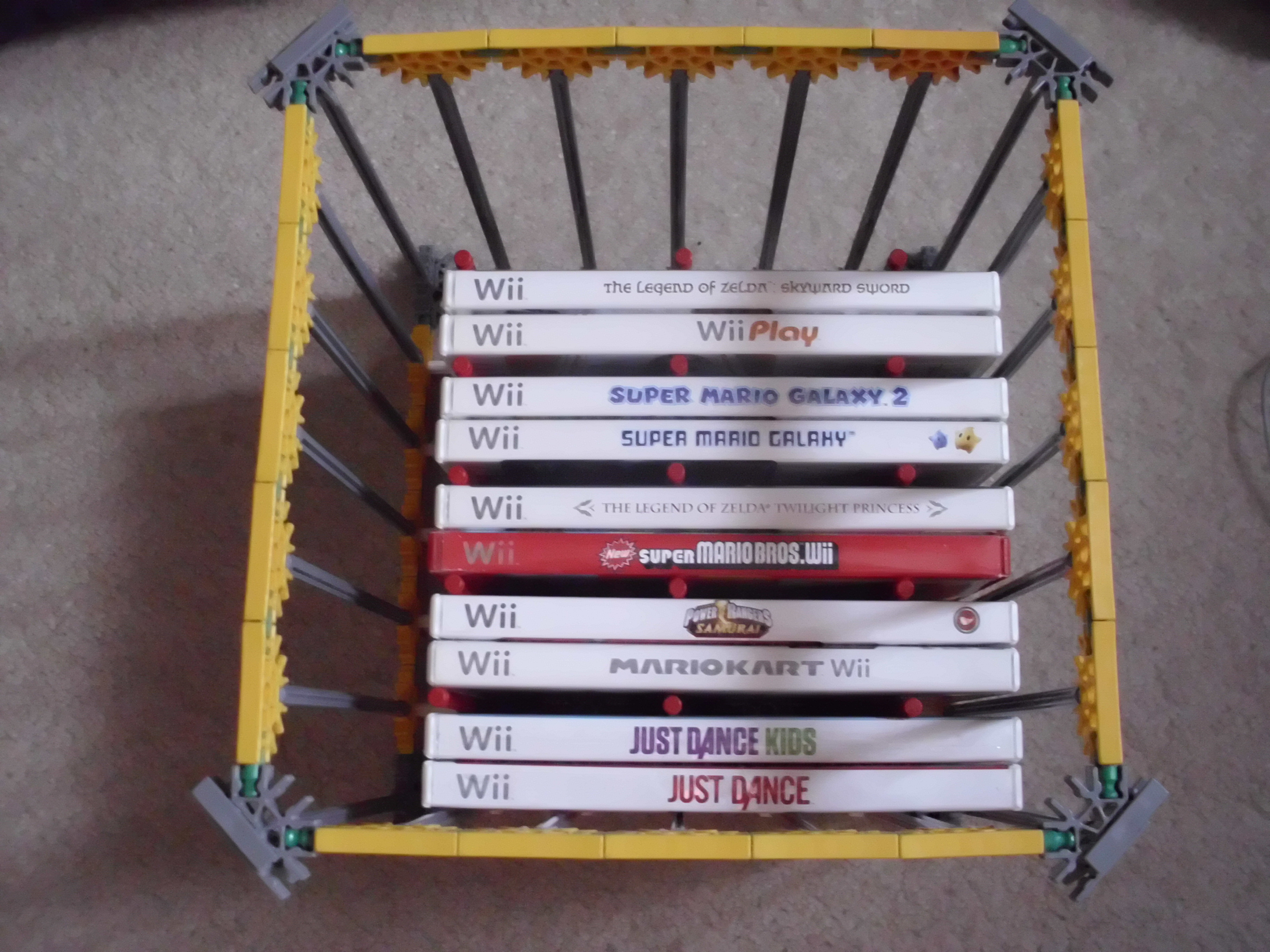 Picture of DVD/Wii Disk Holder