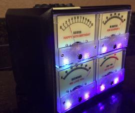 Analog Talking Glow in the Dark 3D Printed Clock