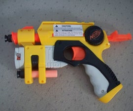 How to Mod a Nerf Nite Finder Ex-3 With a Glued Barrel