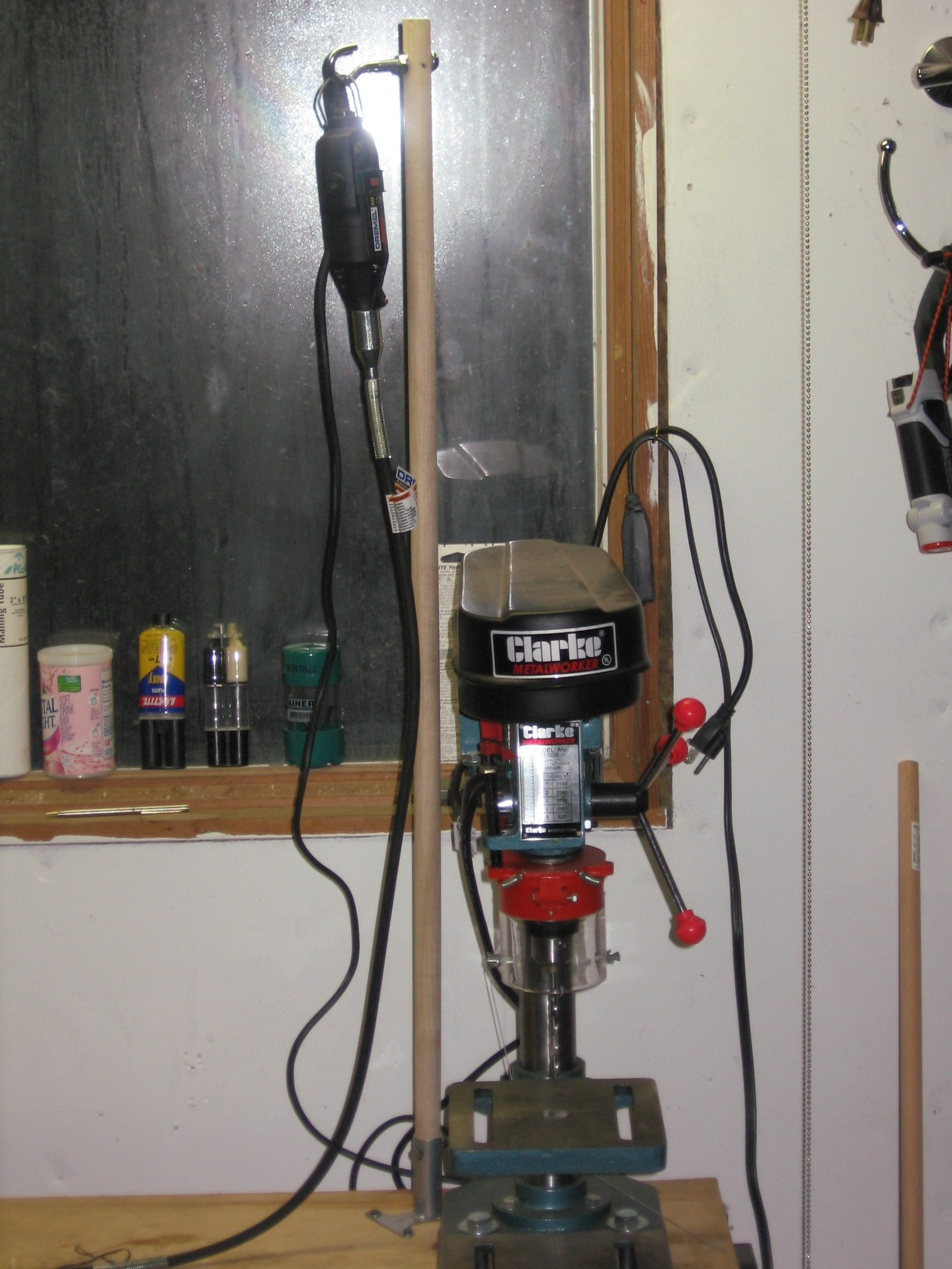 Picture of DIY Dremel Flex Shaft Stand