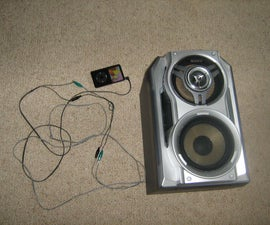 Connect an Ipod or other Mp3 player to normal household speakers without an expensive and bulky amplifier!