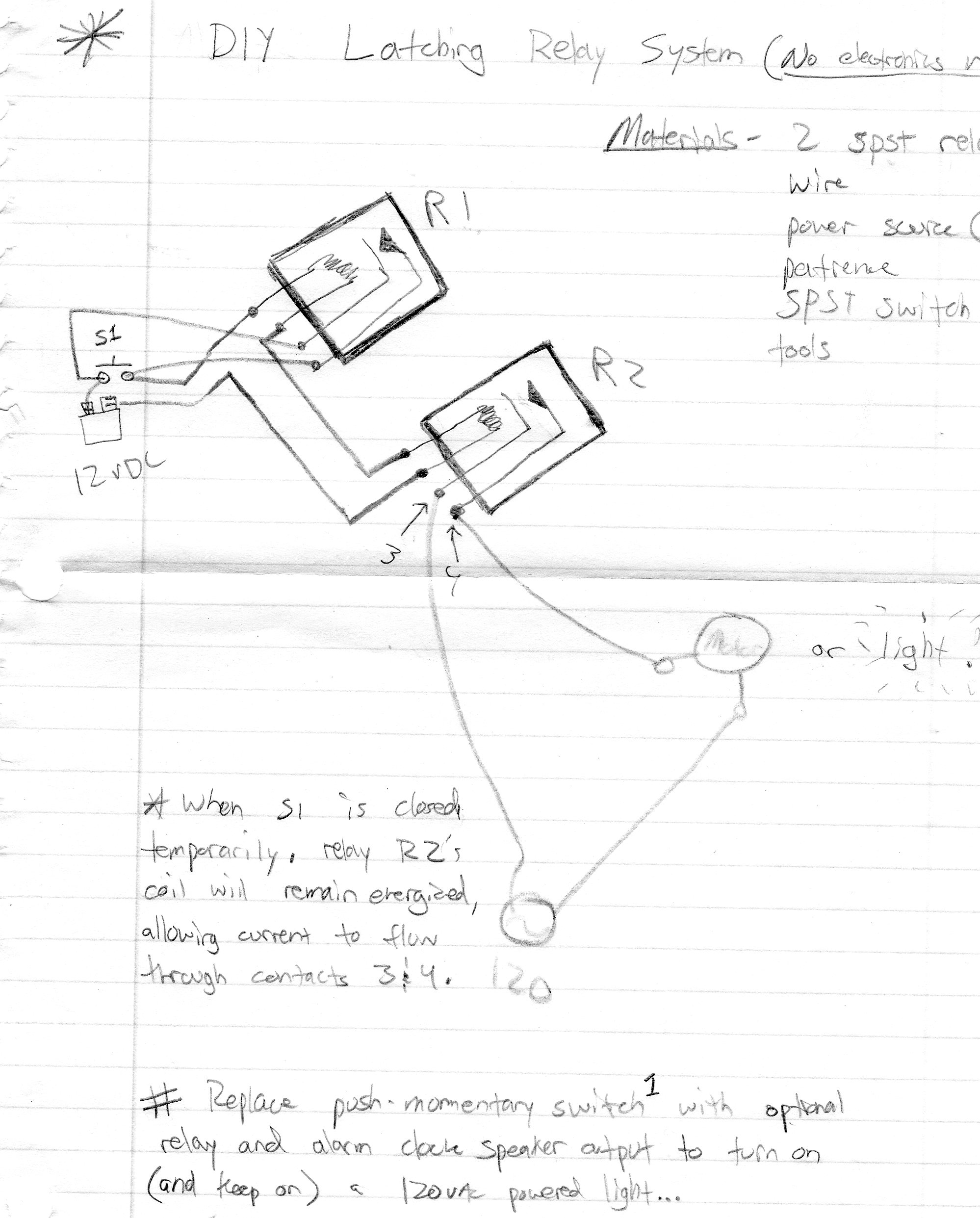 Latching Relay Wiring Diagram from cdn.instructables.com