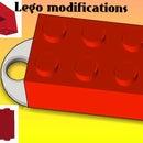 3d Print Modified Legos + k'nex
