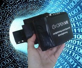 OpenVR - 3D Printed Rift for Only 150$