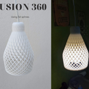 3d Printed Lamp With Fusion 360 3d Splines