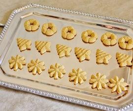 Spritz Cookies (gluten/grain Free)