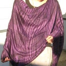 Easy poncho or baby nursing cover