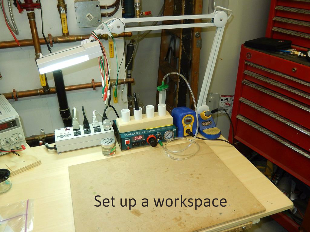 Picture of Using Your Solder Paste Dispenser...
