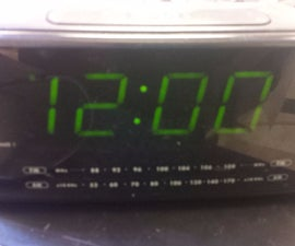 Guitar Amp Alarm Clock