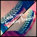 Candy Stripe Friendship Bracelet
