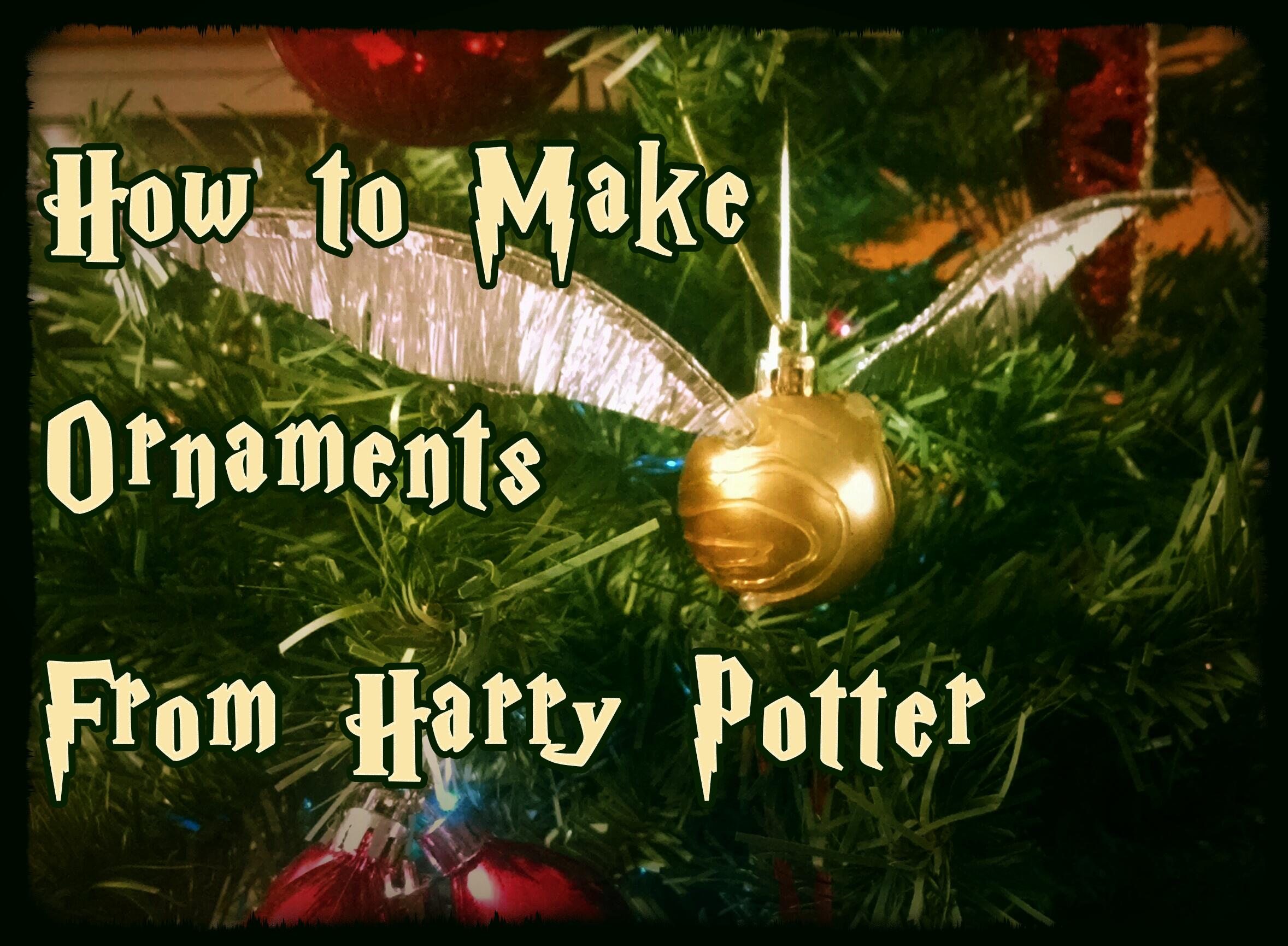 Harry potter christmas ornament - Harry Potter Christmas Ornament 52