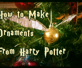 How To Make Harry Potter Ornaments