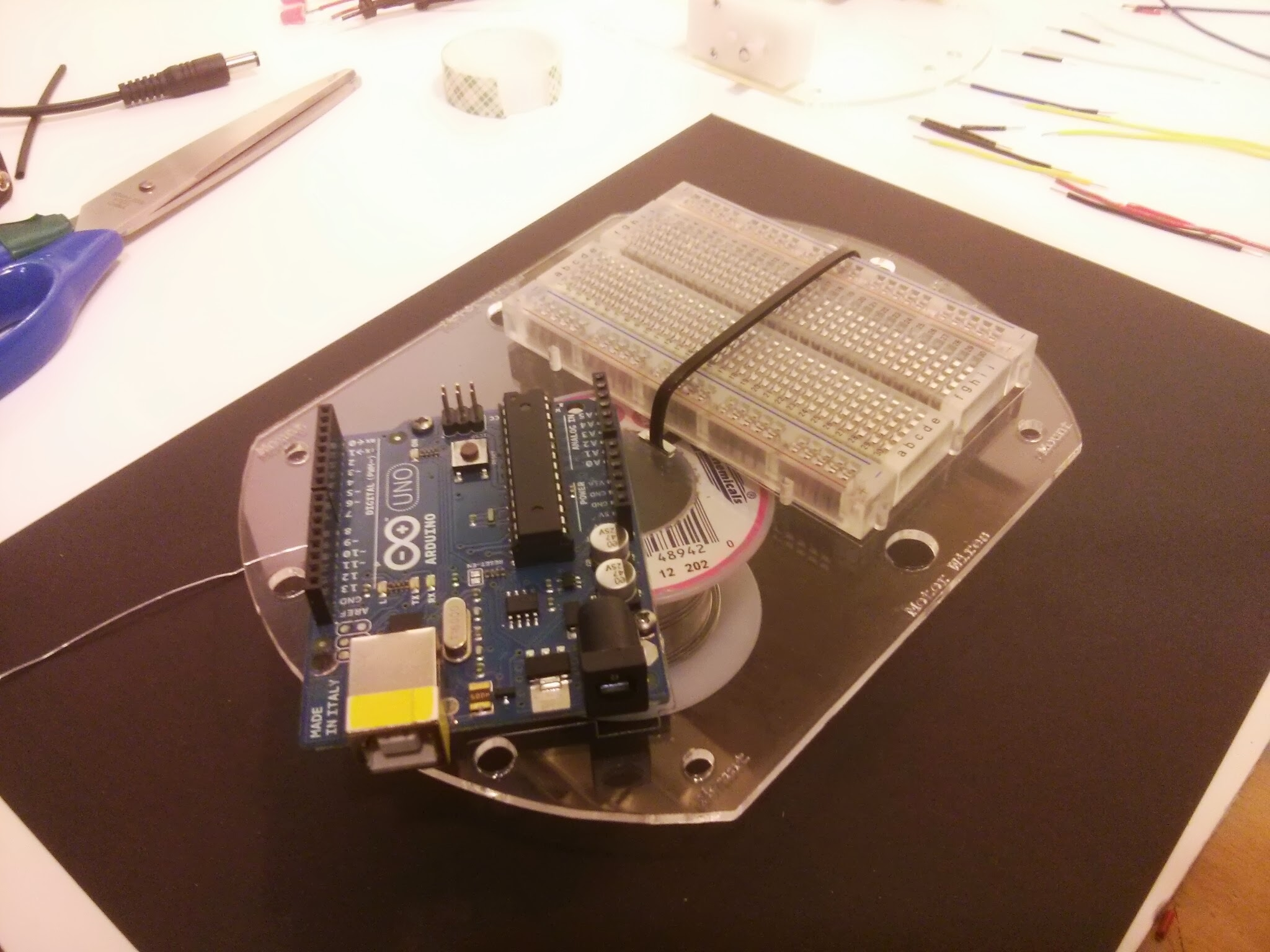 Picture of Mount Your Arduino & Breadboard!