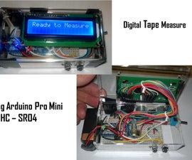Digital Ultrasonic Tape Measure