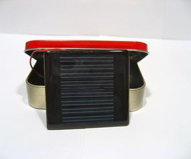 Travel AA Solar Charger - Altoids!
