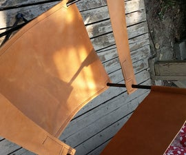 Leather Glamp Chair