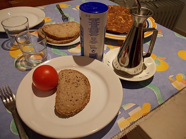 """Picture of Tomato Bread or """"Pa Amb Tomaquet"""""""