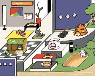 How To Play Neko Atsume 60 Steps With Pictures Instructables
