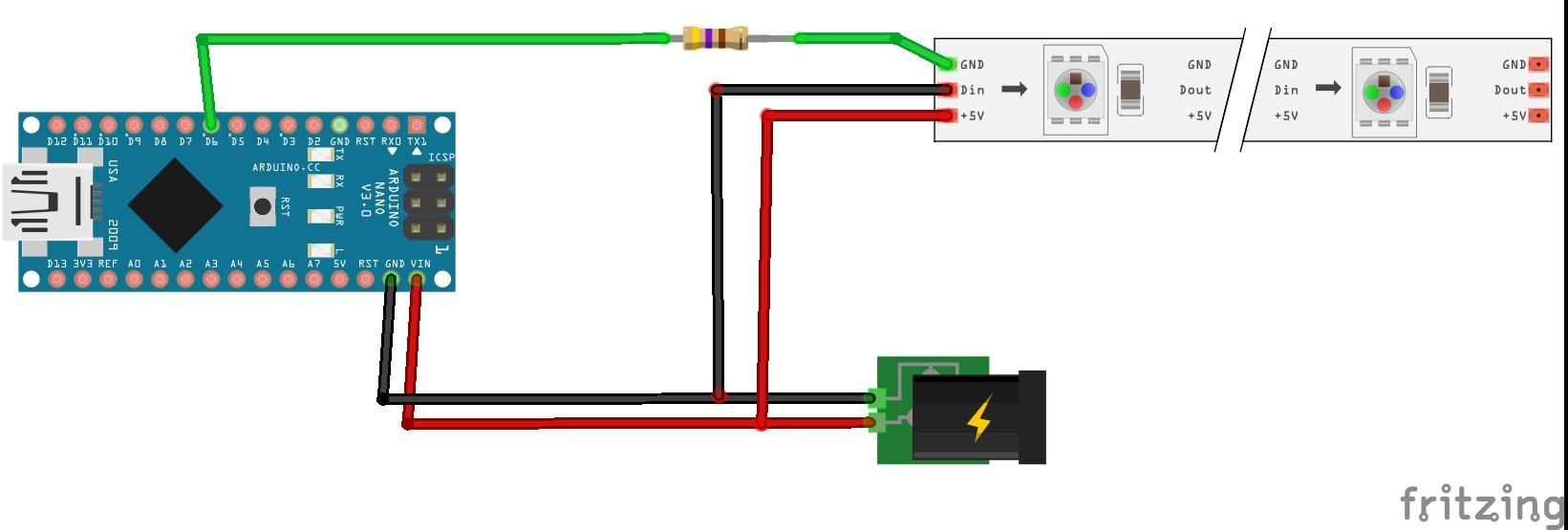 Picture of Diagrama De Conexión De Arduino NANO  (Arduino NANO Diagrams)