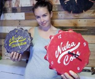 Nuka Cola Clock