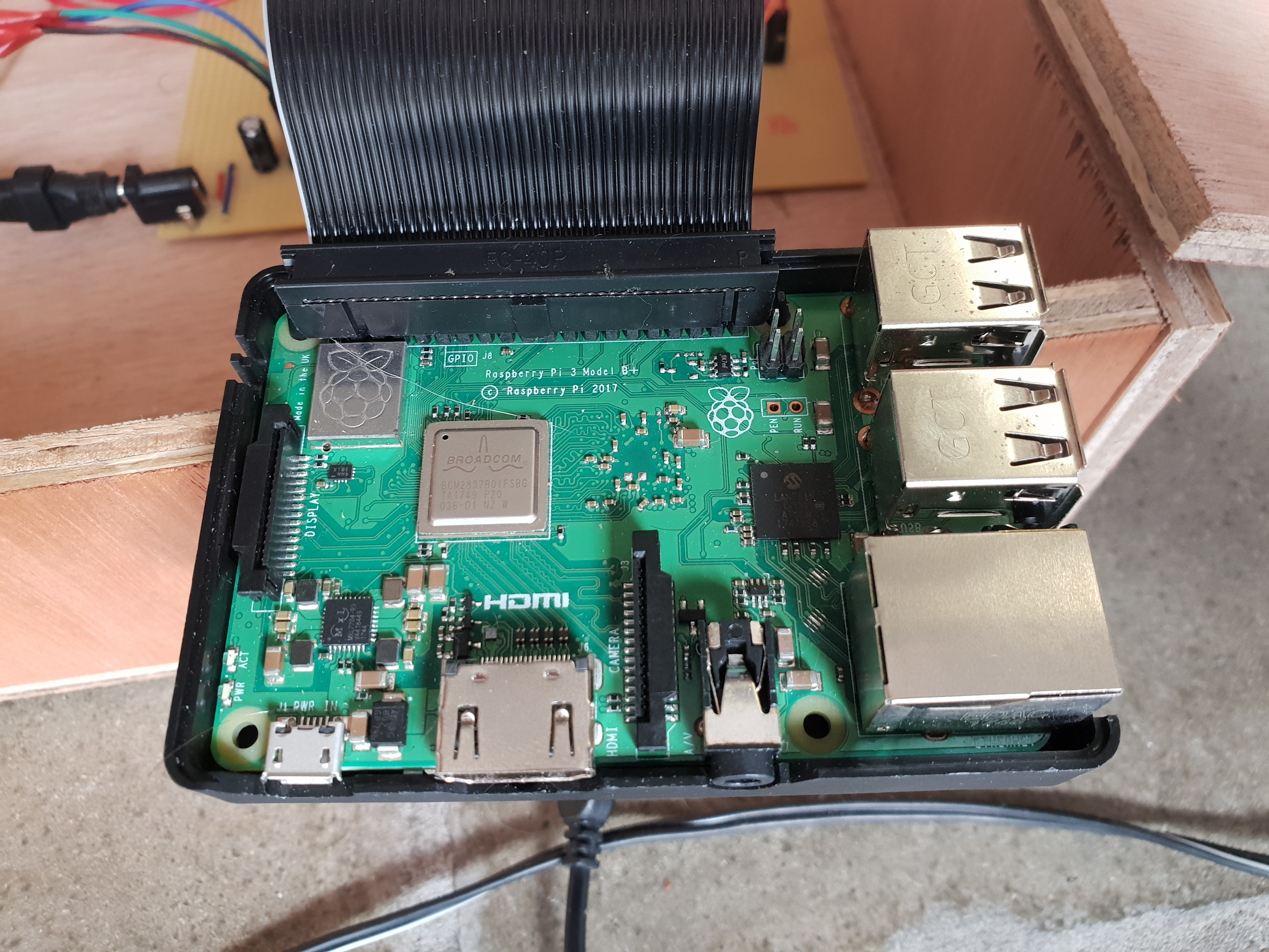 Picture of Raspberry PI Setup