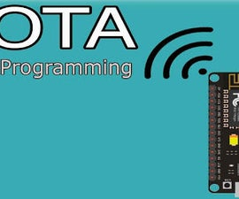 IoT Over The Air Update (OTA) ESP8266