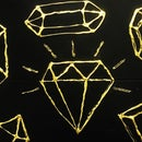 Gold Foil Laptop Cover