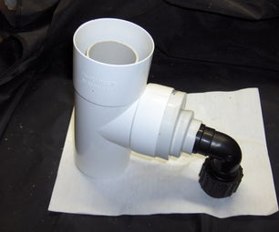 Rainwater Diverter Using Off-the-shelf Parts