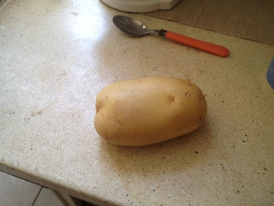 Testing the Oven, Cooking Potato